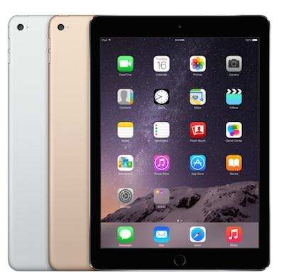 "APPLE IPAD Air 2 - 16GB Wifi 4G Nero-Grigio Siderale WiFi 9.7"" Retina Bluetooth Webcam - MGGX2TY/A A1567"