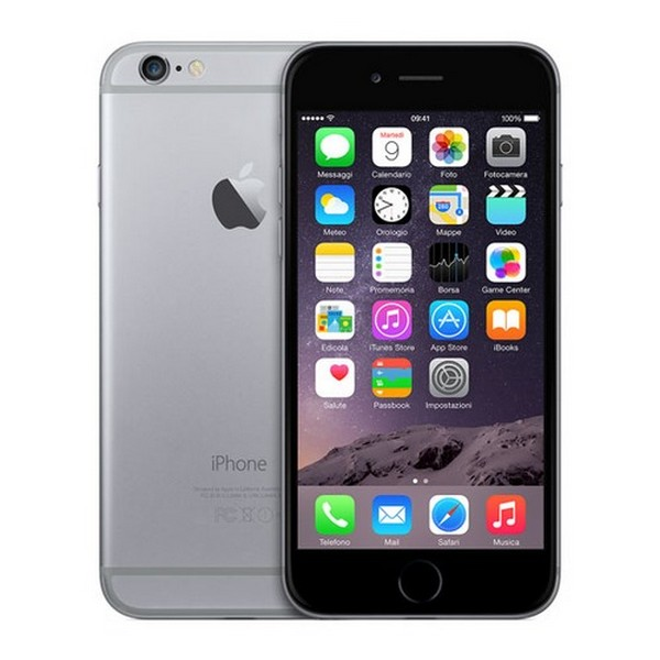 "Apple iPhone 6 64 Gb Space Gray MG4F2QL/A Grigio siderale 4.7"" con scatola e accessori - iPHONE6/64"