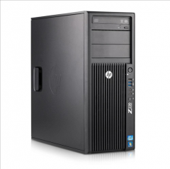 HP WS Z220 Intel Xeon Quad Core E3-1245 3.3 Ghz 8GB HDD 500GB DVD/RW Nvidia Quadro 2000 Win 10 Pro - H0704212W