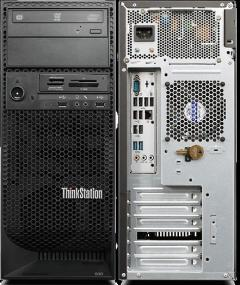 Lenovo Think Station S30 Xeon E5-1620 V2 3.7 Ghz 16GB HDD 600GB SAS DVD/RW Quadro K2000 Win10 Pro - L2611181S