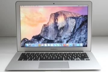 "Apple MacBook Air Core I5-5250U 1.6 Ghz 8GB SSD 128 GB LCD 13.3"" - A1466"